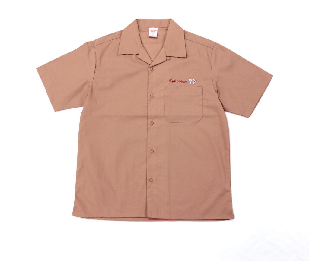 シャツ(ロゴ+ネーム刺繍)